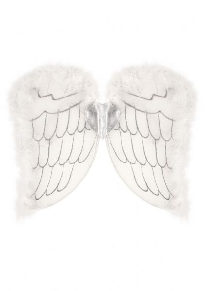 Child Angel Wings - White